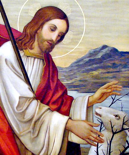 Znalezione obrazy dla zapytania pan jezus dobry pasterz